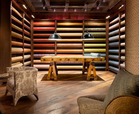 Fortuny Showroom, pinned by CJ Dellatore