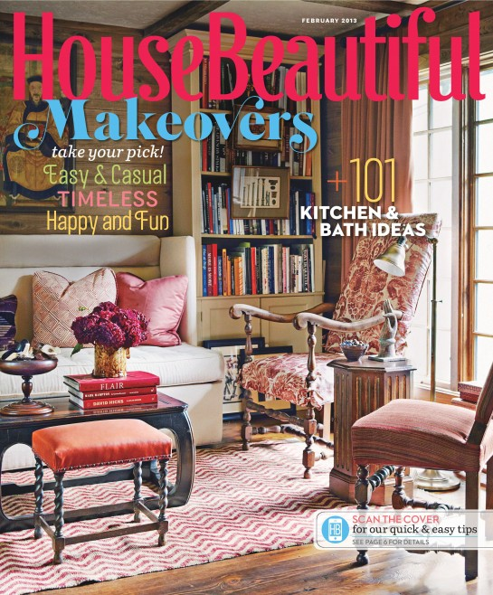 House Beautiful Feb13 cover